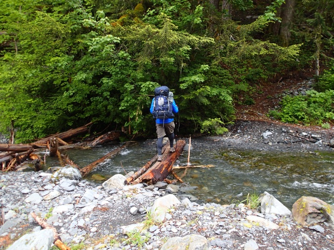 Crossing Martin Creek