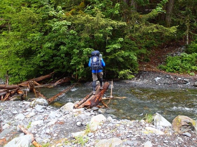 Crossing Martin Creek