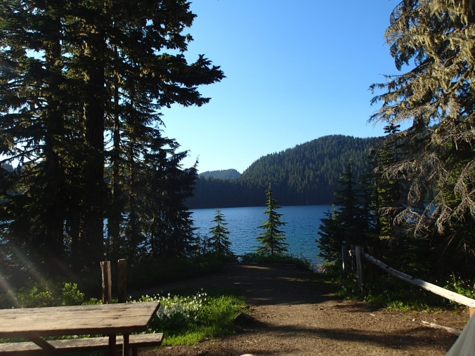 Mowich Lake From The Mowich Lake Ranger Station