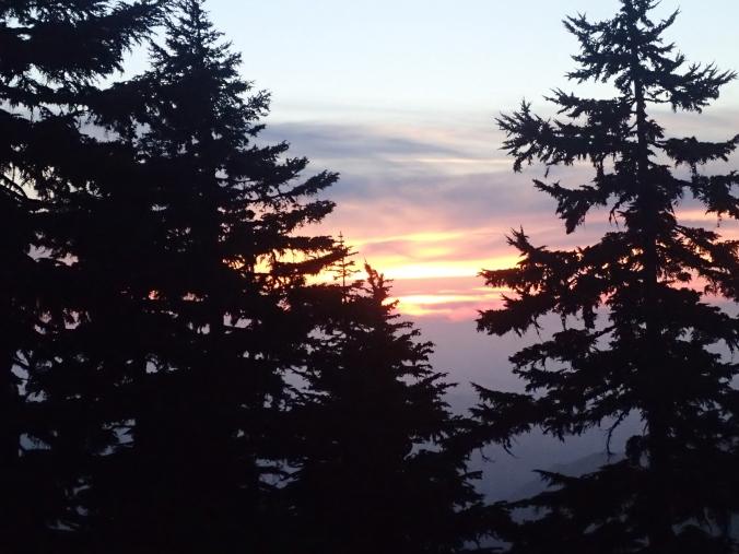 Sunset At Klapatche Park
