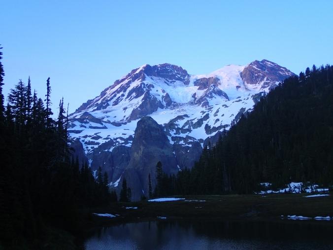 Alpine Glow From Klapatche Park