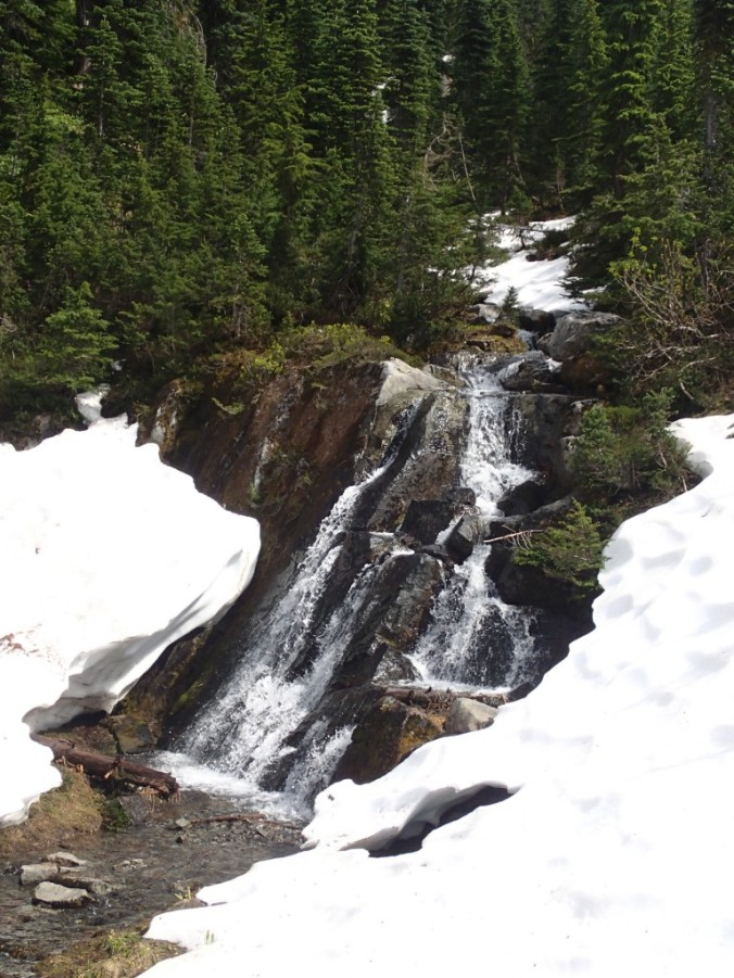 Falls On The Trail To Mirror Lake