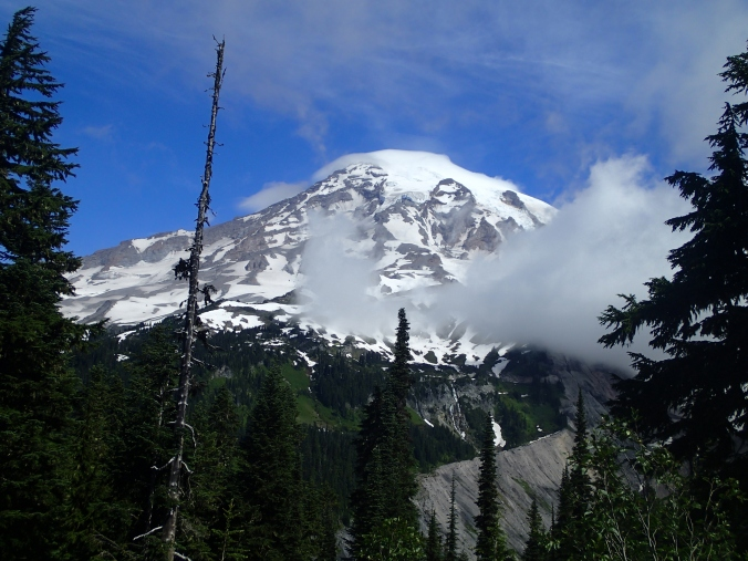 Mount Rainier From Just Below Paradise